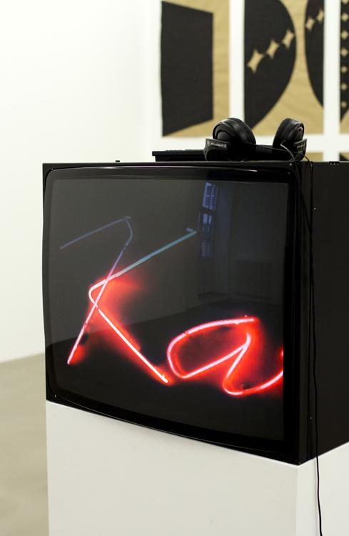 Chifa, Karaoke, Telo,  2014 installation view