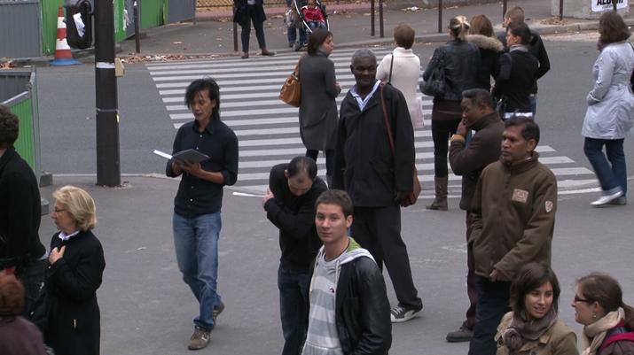 Carlos Amorales, Supprimer, Modifier et Preserver,  2012 video still, 28:42 min