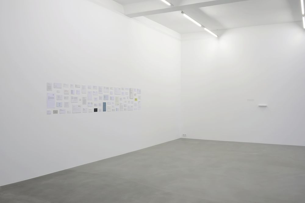 discrete collection , 2014 installation view