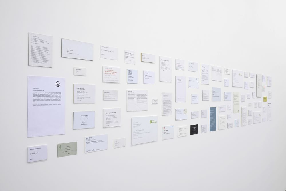 My Most Favourite Art,  2004-2014 (ongoing project) 74 labels, variable dimensions