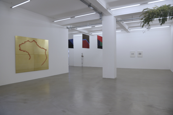 because the world is round, it turns me on,  2013 installation view