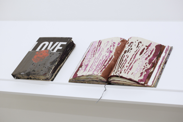 Tony Just,  Deep Love, Reine d'alcool , 2012 artist books