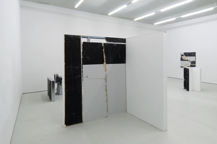 Monochromatic Muralism,  2012 installation view
