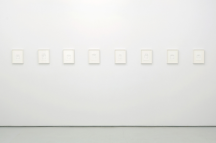 Harmonic Distortion,  2012 installation view
