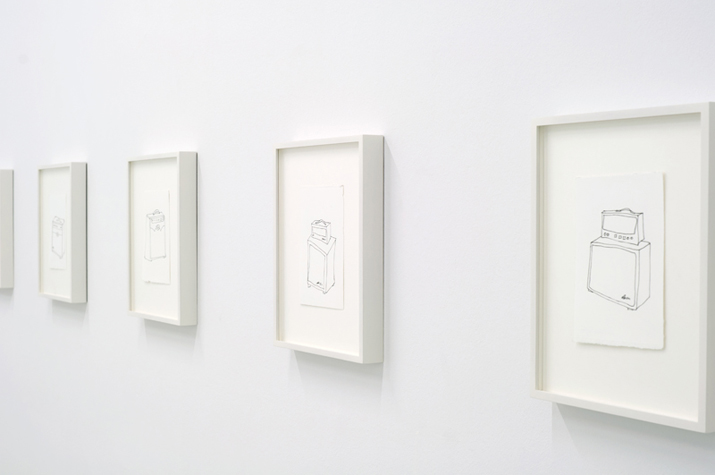 Harmonic Distortion , 2012 installation view