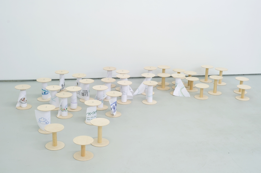NO GO , 2012 installation view