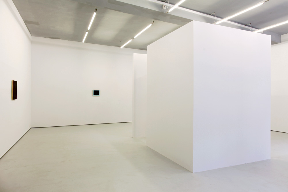 Double Back , 2011 installation view