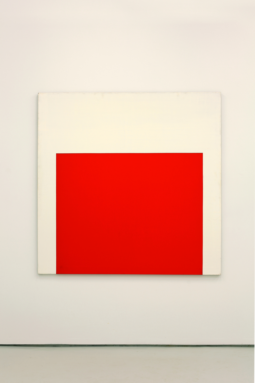 Red Square,  1974 acrylic on canvas, 152 x 152 cm