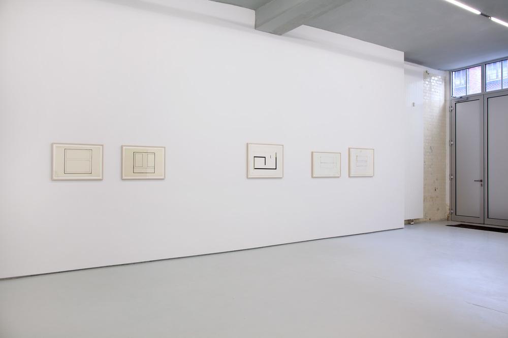 Carmen Herrera ,2011 installation view