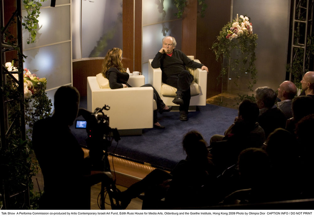 Talk Show , 2009 production still: Olimpia Dior