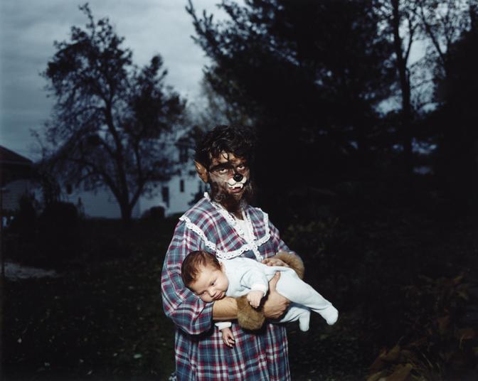 Daren and Dylan, Halloween ,2006 c-print