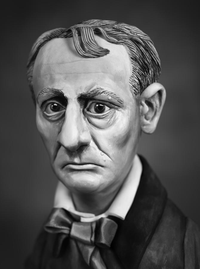 Charles Baudelaire , 2015 photograph,57 cm x 41 cm