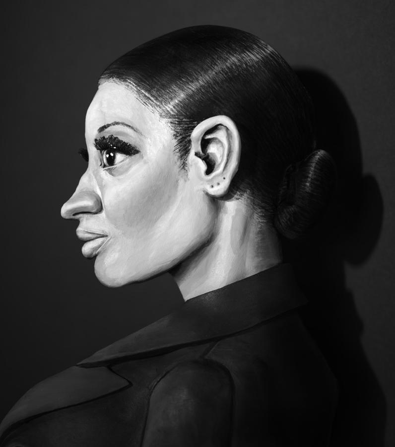 Nicki Minaj ,2015 photograph,57 cm x 38 cm