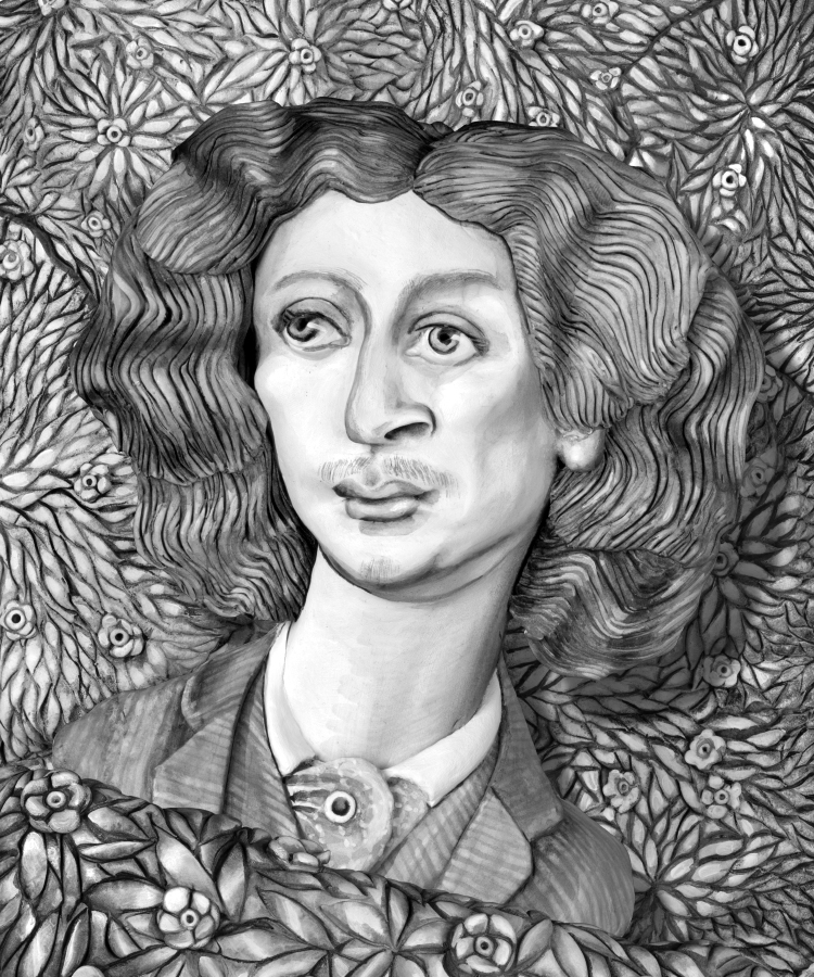 Swinburne Rossetti ,2015 photograph, 57 cm x 38 cm