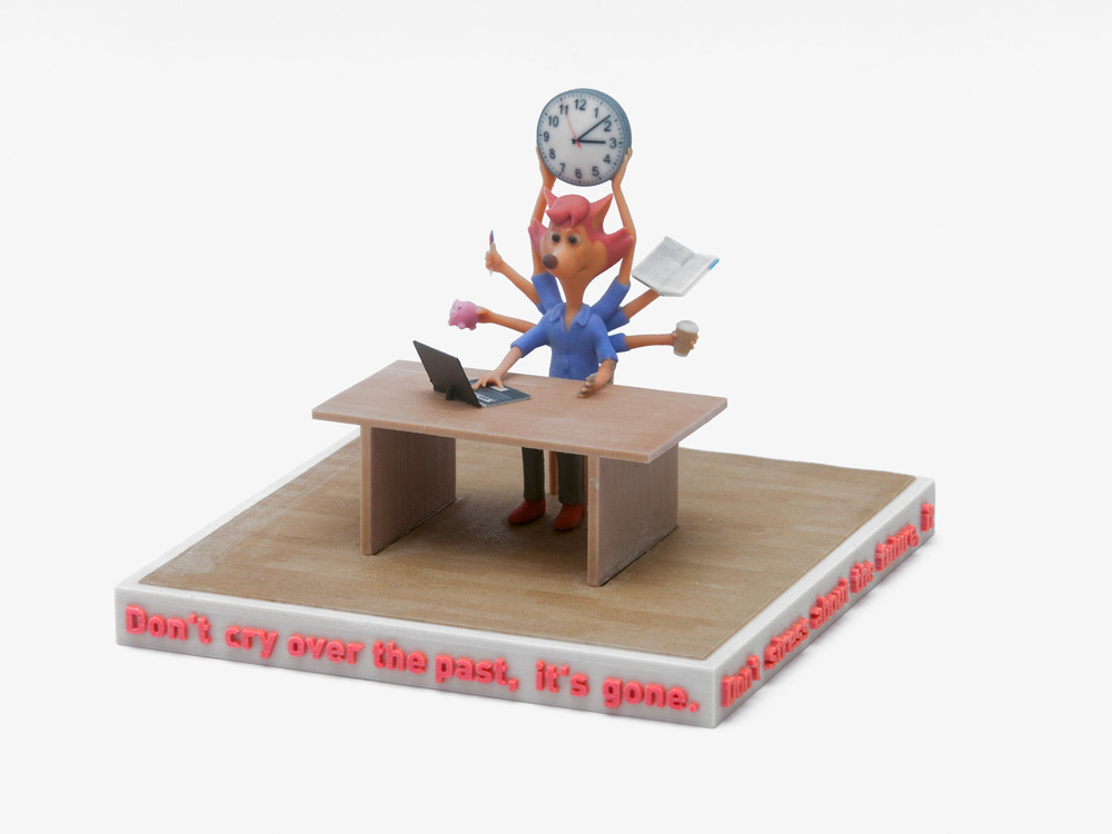 Ed Fornieles,  The Office , 2016, 3D print, 20x20x15cm