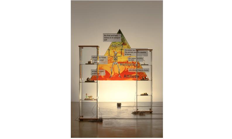 Ed Fornieles,  Der Geist: Flesh Feast,  installation view, Arratia Beer, 2016