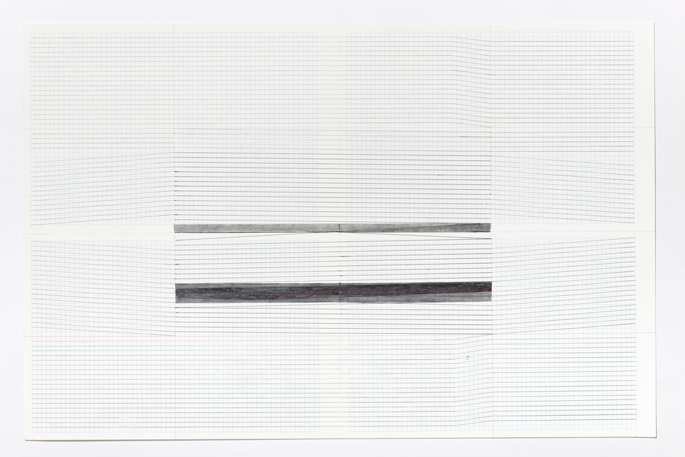 Haleh Redjaian   Untitled (4/9) , Pencil on paper, 46 x 32 cm, 2015