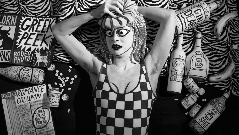 Mary Reid Kelley with Patrick Kelley   Swinburne's Pasiphae    Single Channel HD Video with Sound, Video still  2014