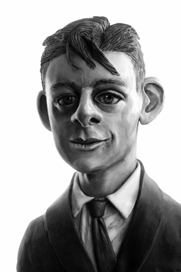 Y oung T.S. Eliot, 2015 pigment ink print, 56,61 x 39 cm