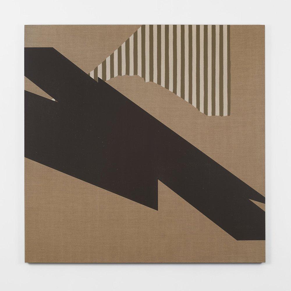 Matthew Metzger  La Patience , 2016 acrylic on linen, 163,5 x 161,3 cm