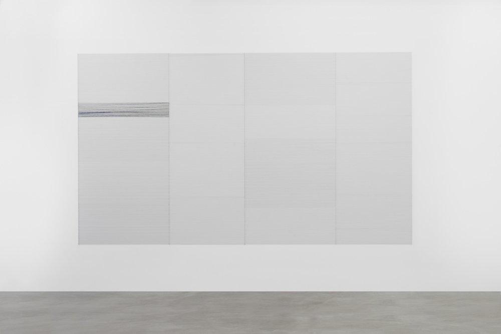 Up on the toe, the air in thinner,  2015 installation view
