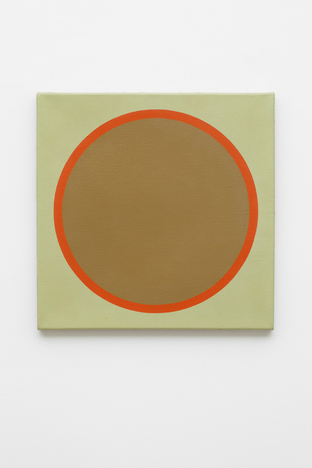 Friedrich Teepe  1969-1 , 1969 acrylic on canvas, 50 x 50 cm