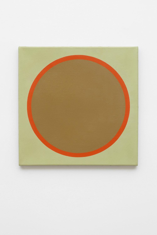 1969-1 , 1969 acrylic on canvas,50 x 50 cm