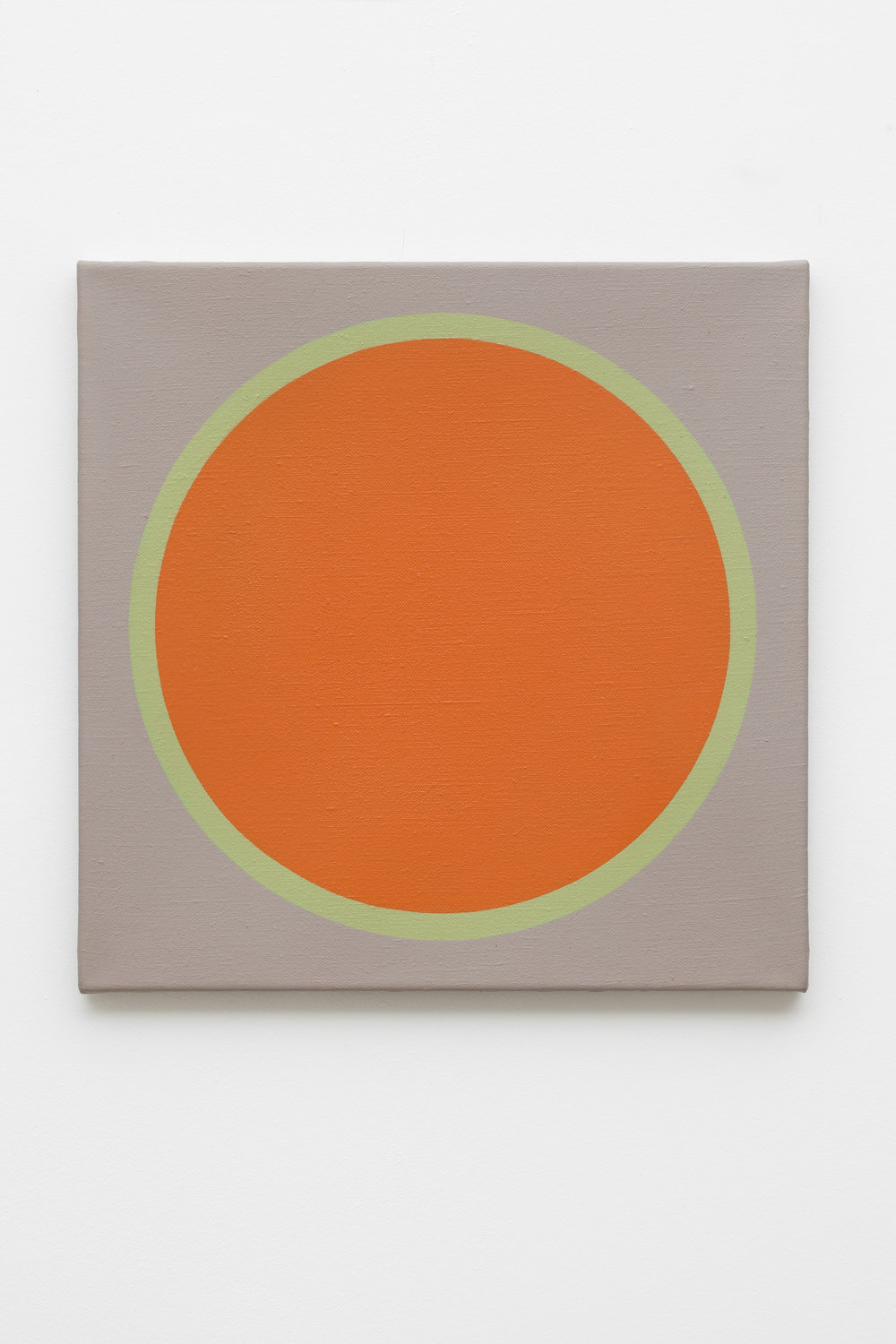 Friedrich Teepe  1969-2 , 1969 acrylic on canvas, 50 x 50 cm