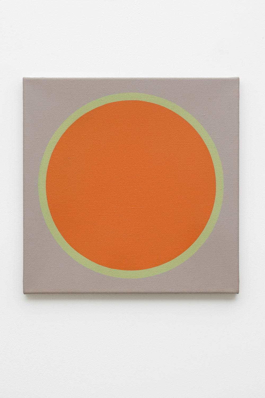 1969-2 , 1969 acrylic on canvas,50 x 50 cm