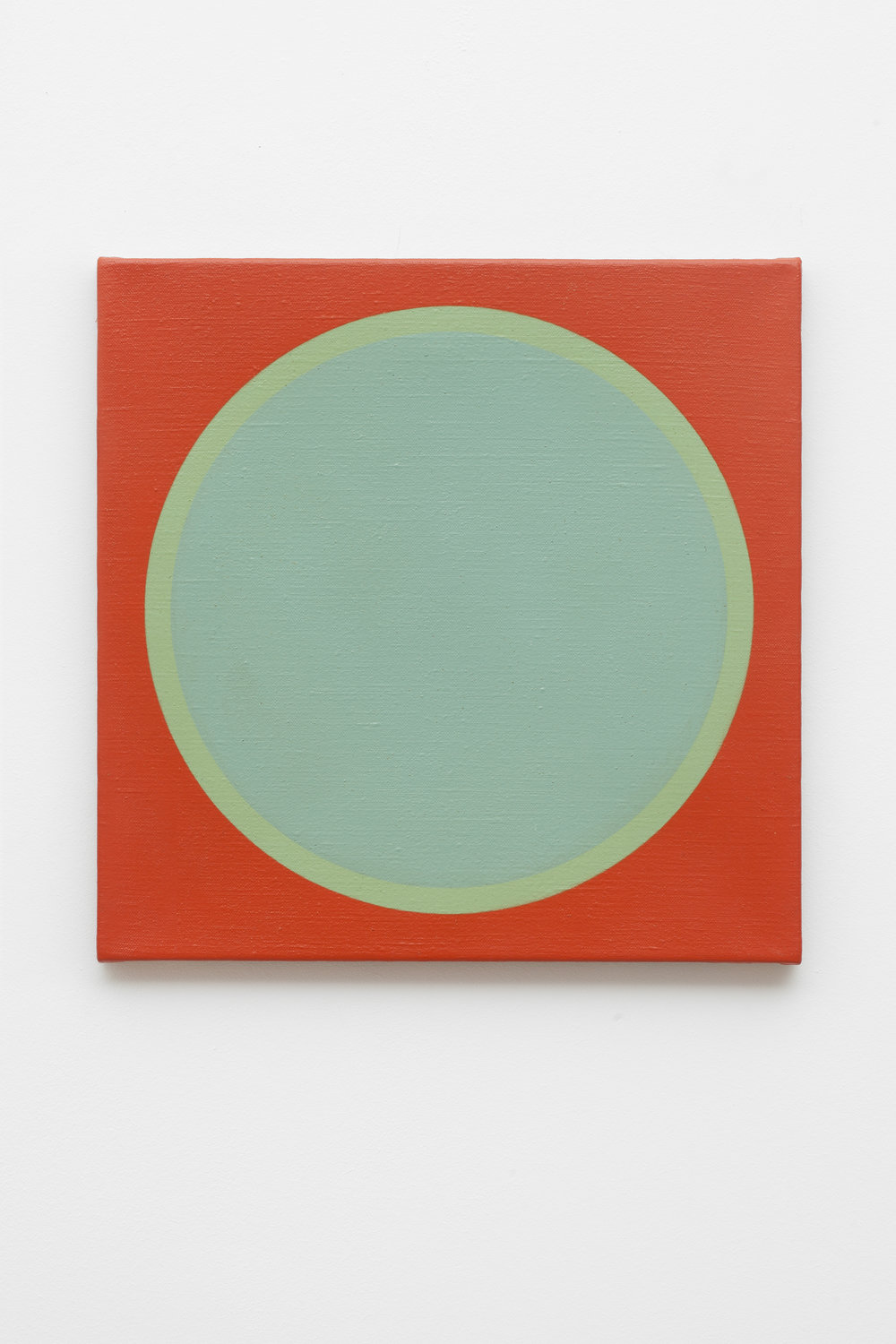 Friedrich Teepe  1969-4 , 1969 acrylic on canvas, 50 x 50 cm