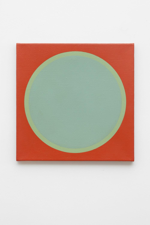 1969-4 , 1969 acrylic on canvas,50 x 50 cm
