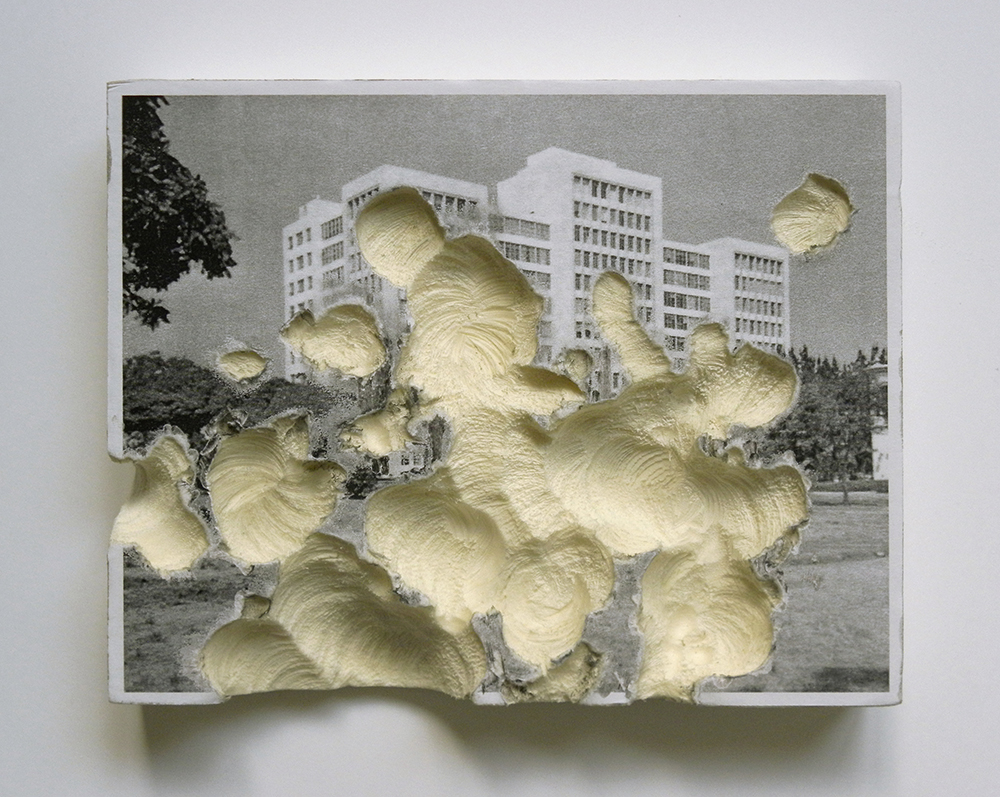 Museum of Natural State. Infiltrated Ministry of Work (1) , 2013 polystyrene rigid foam, inkjet print, 23 x 17,8 x 3cm