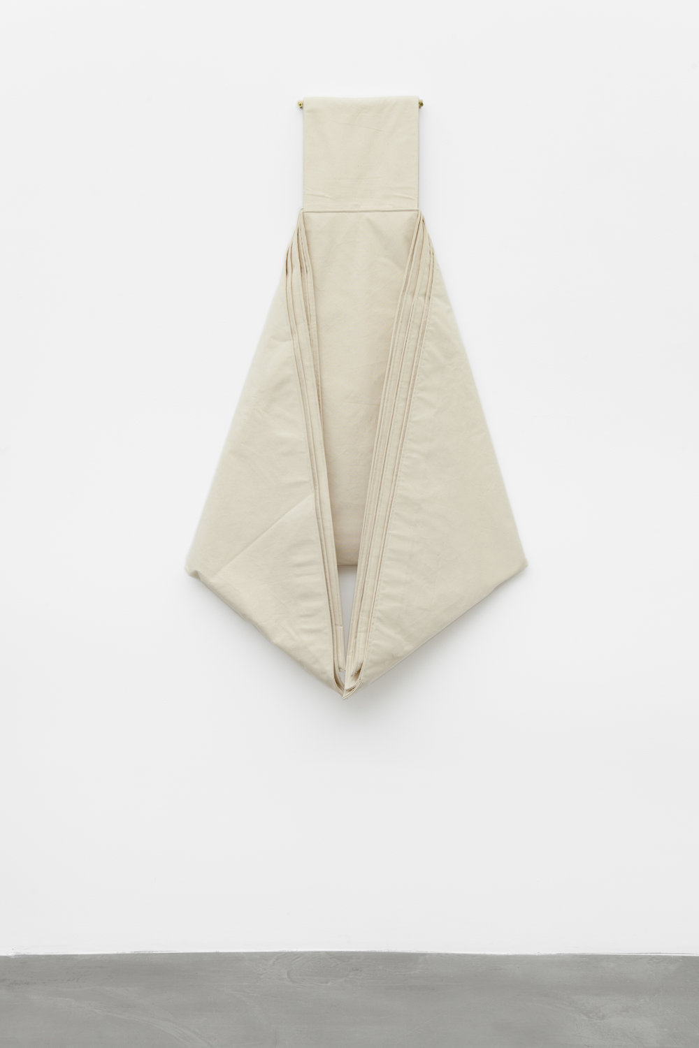 Friedrich Teepe  1983-3 , 1983,  cotton, raw, 150 x 80 x 50 cm