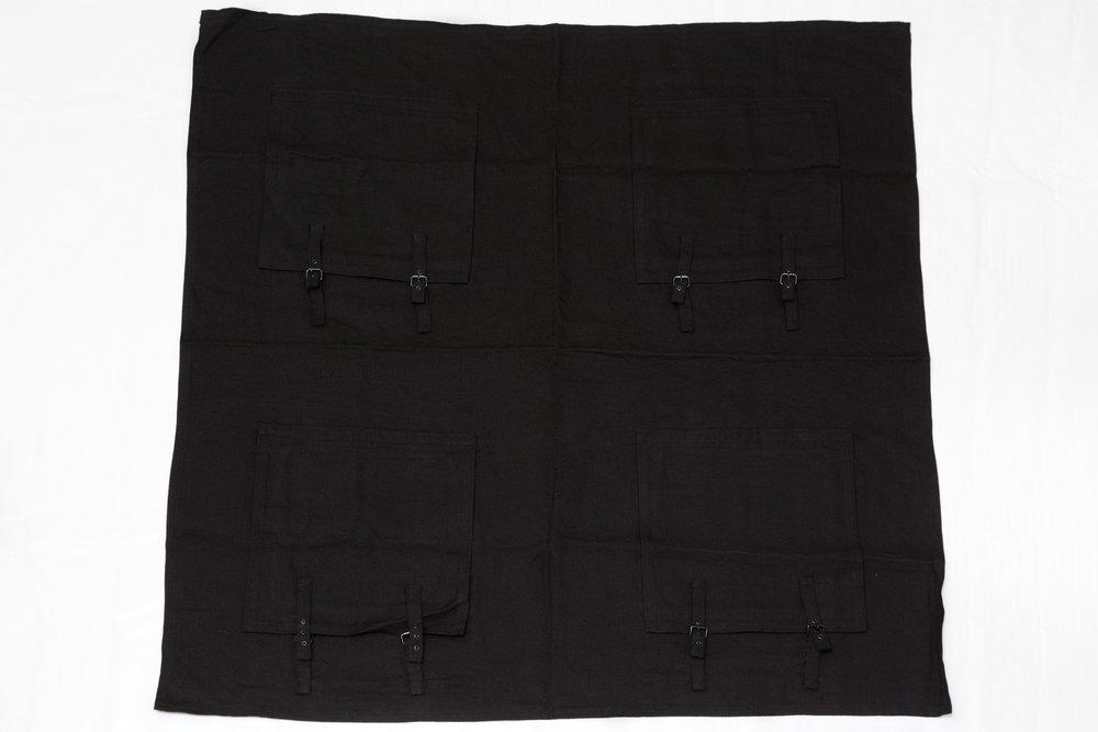 1980-4 , 1980 linen, 140 x 140 cm