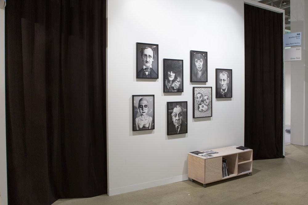Art Basel Statements 2016, installation view