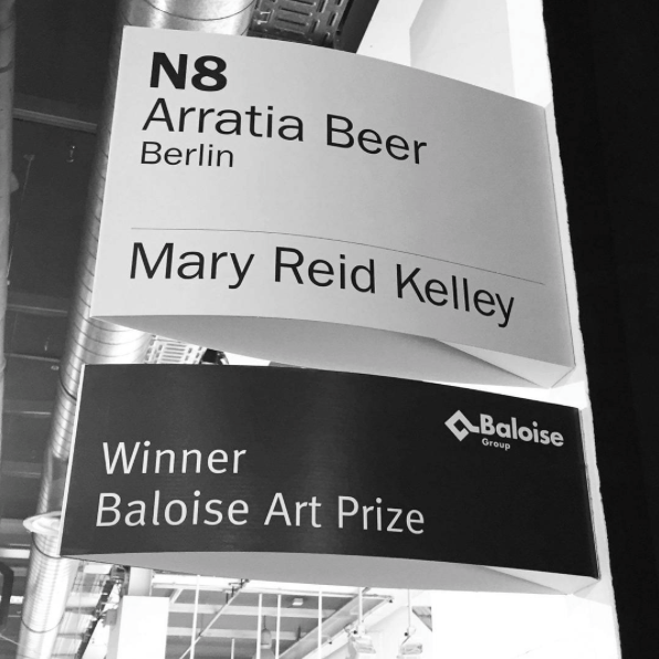 Winner of Baloise Art Prize, 2016