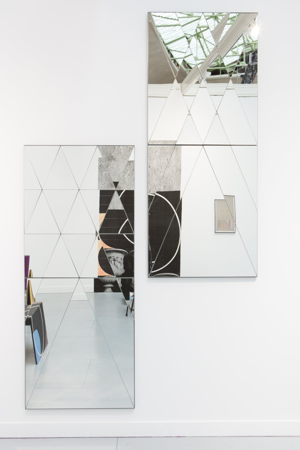 Claudia Wieser, 2015,  untitled (mirror),   mirror, 182 cm x 76 cm x 3 cm, edition 1+2