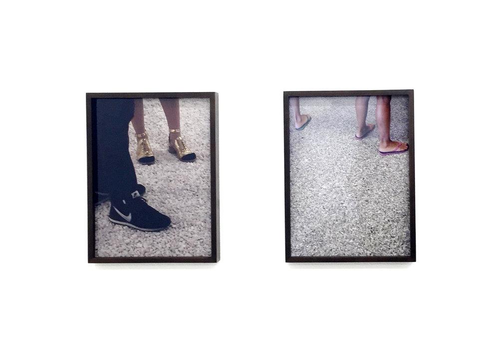 Claudia Wieser  Untitled (series of 2),  2015 digital print, 19 x 25 cm (framed)