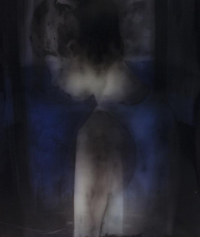 Matt Saunders  Double Jane Profile #2 , 2018 C print on Kodak Endura Premiere matte paper, 123 x 103 cm