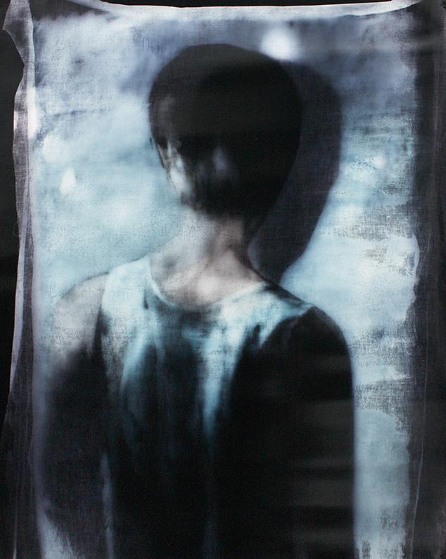 Matt Saunders  Double Jane #2 , 2017-18 C print on Kodak Endura Premiere matte paper, 123 x 103 cm