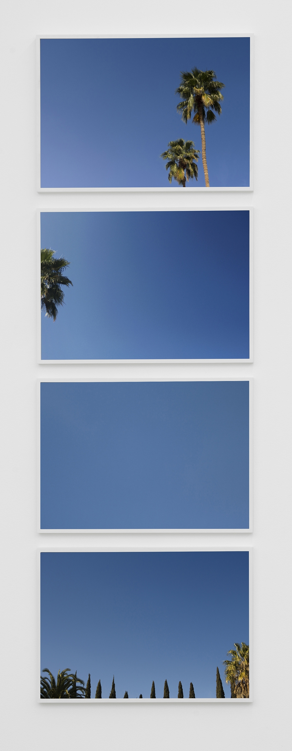 Maria Anwander  Baldessari Without Balls,  2014 Series of four fine art prints, each 71 x 50 cm Edition of 3 + 2AP