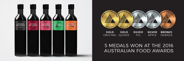 Sticky Balsamic Award Winning Products