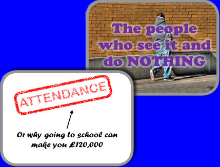 Examples of school assemblies about Attendance and Bullying