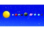 planet size