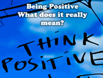what does being positive mean?