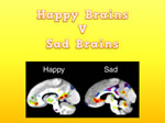 There is a difference between happy and sad brains
