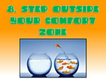 step outside your comfort zone