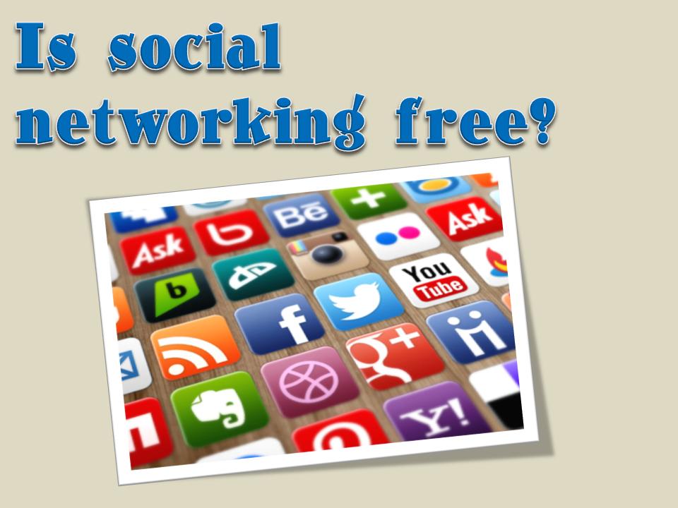 Social Media Free?