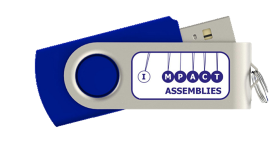 All assemblies now on memory sticks.