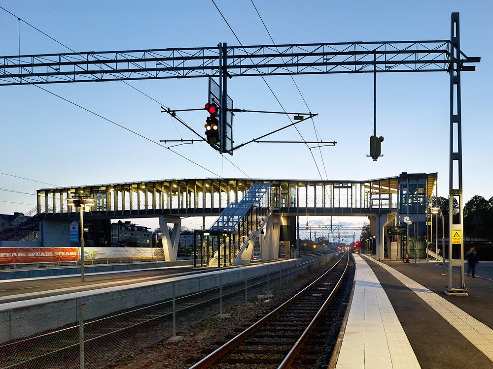 Växjö station  Metro